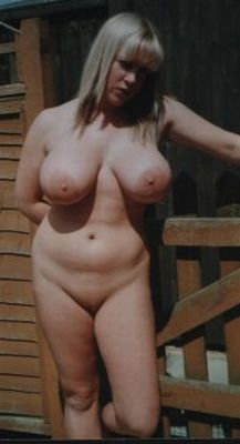 A few pounds over nudist women